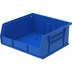 """Akro-Mills Akrobin, Unbreakable/Waterproof, 10 7/8""""x11""""x5"""", Blue"""