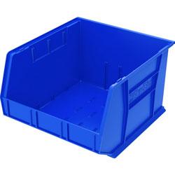 """Akro-Mills Akrobin, Unbreakable/Waterproof, 16 1/2""""x18""""x11"""", Blue"""