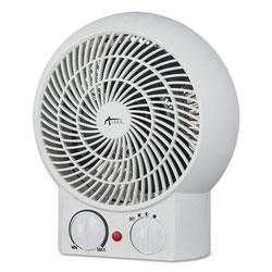 Alera Heater Fan, 8 1/4 in x 4 3/8 in x 9 3/8 in, White