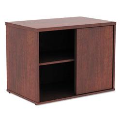 Alera Open Office Low Storage Cabinet Credenza, 29 1/2 x 19 1/8x 22 7/8, Cherry