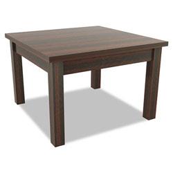 Alera Valencia Series Occasional Table, Rectangle,23-5/8w x20d x20-3/8h,Mahogany