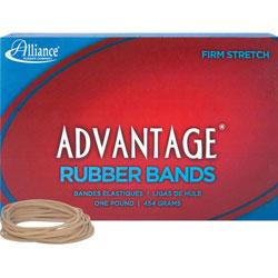 """Alliance Rubber Rubber Bands, Size 18, 1 lb., 3"""" x 1/16"""", Advantage"""