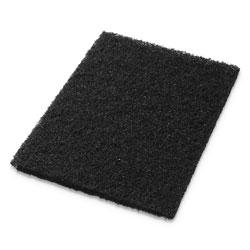 Americo® Stripping Pads, 14w x 20h, Black, 5/CT
