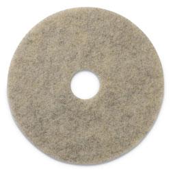 Americo® Porko Plus Burnishing Pads, 20 in Diameter, Grayish Black, 5/CT