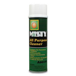 Misty Green All-Purpose Cleaner, Citrus Scent, 19oz Aerosol, 12/Carton