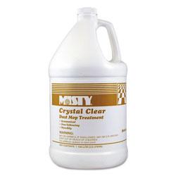 Misty Crystal Clear Dust Mop Treatment, Slightly Fruity Scent, 1 gal Bottle