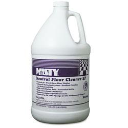 Misty Neutral Floor Cleaner EP, Lemon, 1gal Bottle, 4/Carton