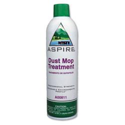 Misty Aspire Dust Mop Treatment, Lemon Scent, 20 oz. Aerosol Can, 12/Carton