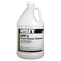 Misty EDF-3 Carpet Cleaner Defoamer, 1 gal. Bottle, 4/Carton