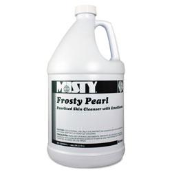 Misty Frosty Pearl Soap Moisturizer, Frosty Pearl, Bouquet Scent, 1 Gal Bottle, 4/Carton