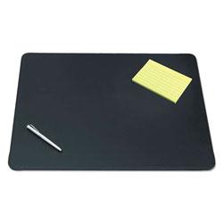 Artistic Office Products Sagamore Desk Pad w/Decorative Stitching, 24 x 19, Black