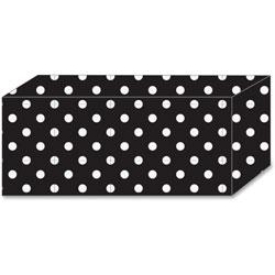 Ashley Magnetic Blocks w/White Dots, 5/PK