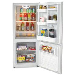 Avanti Products Bottom Mounted Frost-Free Freezer/Refrigerator, 10.2 Cubic Feet, White