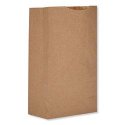 Paper Bags & Sacks Grocery Paper Bags, 52 lbs Capacity, #2, 8.13 inw x 4.25 ind x 9.75 inh, Kraft, 500 Bags