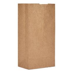 Paper Bags & Sacks Grocery Paper Bags, 50 lbs Capacity, #4, 5 inw x 3.13 ind x 9.75 inh, Kraft, 500 Bags
