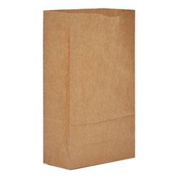 Paper Bags & Sacks Grocery Paper Bags, 50 lbs Capacity, #6, 6 inw x 3.63 ind x 11.06 inh, Kraft, 500 Bags