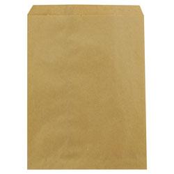 Duro Kraft Paper Bags, 8.5 in x 11 in, Brown, 2,000/Carton