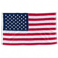 Baumgarten's Nylon American Flag, Stitched, 3'x5'