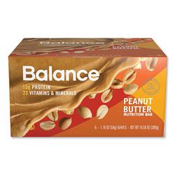 Balance Bar® 40-30-30 Nutrition Bar, Peanut Butter, 1.76 oz, 6/Box