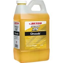 Betco Detergent, f/Pots&Pans, Heavy-duty, FastDraw, 2 Liter