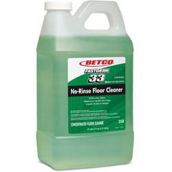Betco Floor Cleaner, No-Rinse, 1/2 Gal, 4/CT