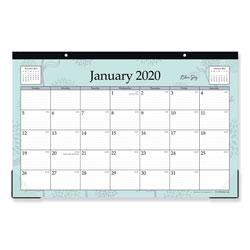 Blue Sky Rue Du Flore Desk Pad, 17 x 11, 2021