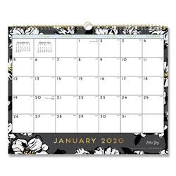 Blue Sky Baccara Dark Wall Calendar, 15 x 12, 2021