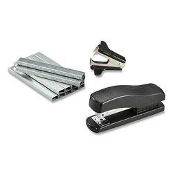 Bostitch® Compact Half-Strip Desktop Stapler, 20-Sheet Capacity, Black