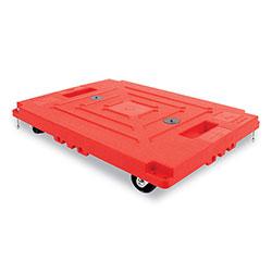 Bostitch® Mule Dollies, 500 lb Capacity, 13.75 in x 19 in x 5 in, Red, 2/Pack