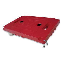 Bostitch® Mule Dollies, 500 lb Capacity, 17.75 in x 12.75 in x 3.375 in, Red, 2/Pack