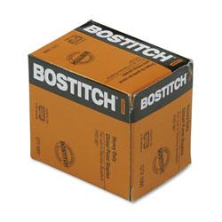 Stanley Bostitch Heavy-Duty Premium Staples, 0.38 in Leg, 0.5 in Crown, Steel, 5,000/Box