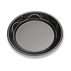 D&W Finepack 7 in Plastic Plate, Black Pearl