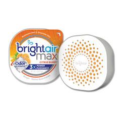 Bright Air Max Odor Eliminator Air Freshener, Citrus Burst, 8 oz, 6/Carton