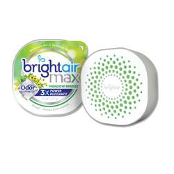 Bright Air Max Odor Eliminator Air Freshener, Meadow Breeze, 8 oz, 6/Carton