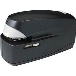 Business Source Electric Stapler, 25 Sheet Cap, 35mm Throat, Black