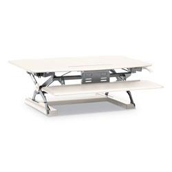 Hon Coordinate Portable Desktop Riser, 35.04w x 31.1d x 16.54h, White