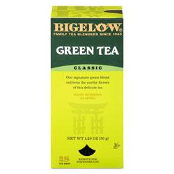 Bigelow Tea Company Single Flavor Tea, Green, 28 Bags/Box