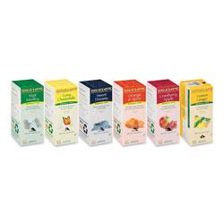 Bigelow Tea Company Assorted Tea Packs, Six Flavors, 28/Box, 168/Carton