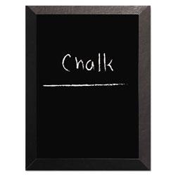 MasterVision™ Kamashi Chalk Board, 36 x 24, Black Frame