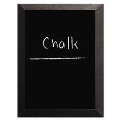 MasterVision™ Kamashi Chalk Board, 48 x 36, Black Frame