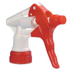 Boardwalk Trigger Sprayer 250 for 16-24 oz Bottles, Red/White, 8 inTube, 24/Carton