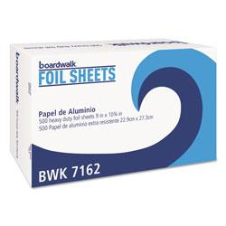 Boardwalk Standard Aluminum Foil Pop-Up Sheets, 9 in x 10 3/4 in, 500/Box