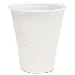 Boardwalk Translucent Plastic Cold Cups, 12 oz, Polypropylene, 20 Cups/Sleeve, 50 Sleeves/Carton