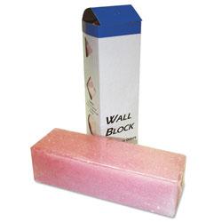 Boardwalk Deodorizing Para Wall Blocks, 2 4 oz, Pink, Cherry, 6/Box