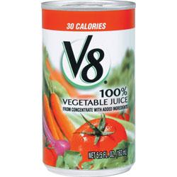 Campbell's® V8 Vegetable Juice, 5.5 oz., 48/CT