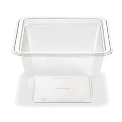 Placon Fresh n Clear GoCubes 36 oz. Clear Base