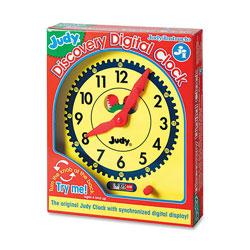 Carson Dellosa Judy Discovery Digital Clock, Multi Color