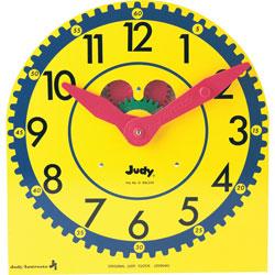 Carson Dellosa Judy Clock, Original, Multiple Colors