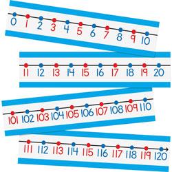 Carson Dellosa Number Line Bulletin Board Set, 4 in x 6 in