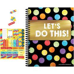 Carson Dellosa Teacher Planner w/Stickers, Celebrate, 128-Page, 299/ST